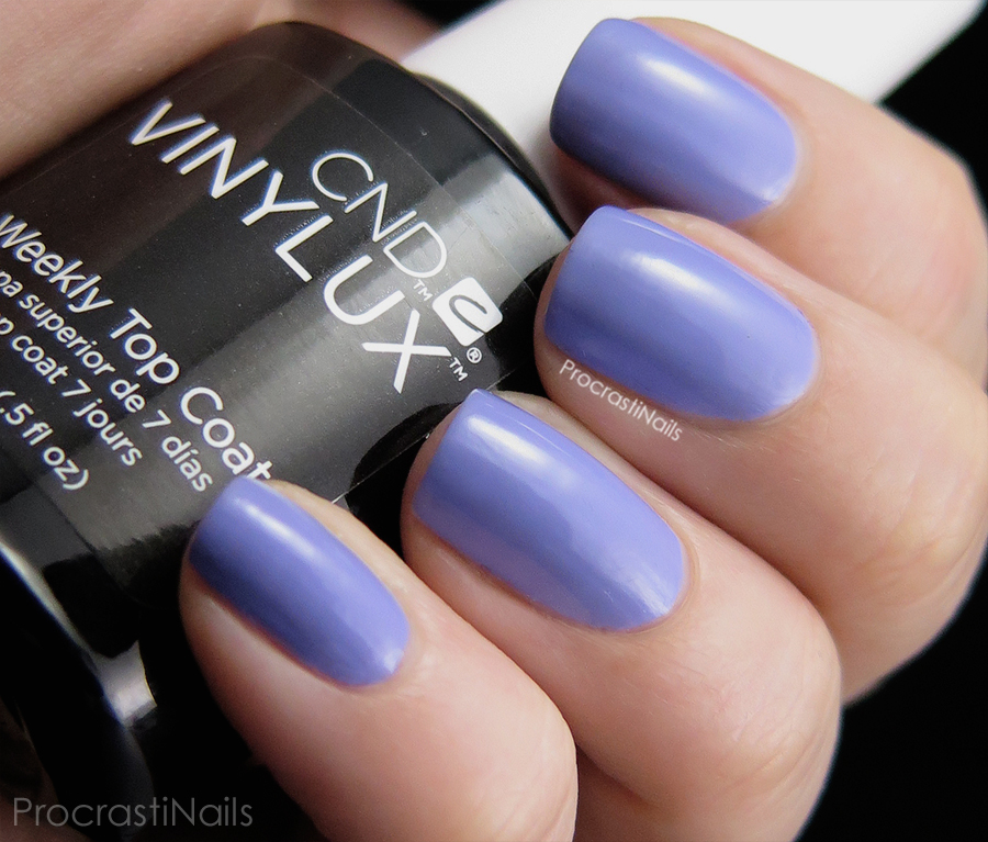 Swatch of Wisteria Haze from the CND Vinylux Garden Muse Collection