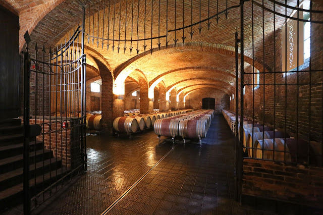 Monsordo Bernardina wine cellar