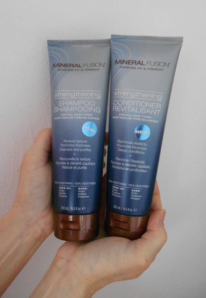 Mineral Fusion Strengthening Shampoo and Conditioner