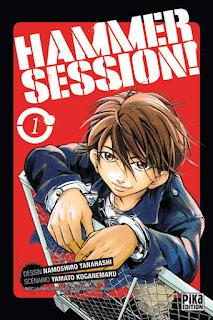 Hammer Session! de Yamato Koganemaru, Hiroyuki Yatsu et Namoshiro Tanahashi manga mangaka bd bande-dessinée bdocube blog information japon japonais dessinateur illustrateur dessin illustration auteur scénariste publié publication édité éditeur édition