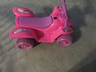 Four Wheeler for granddaughter for $3.00