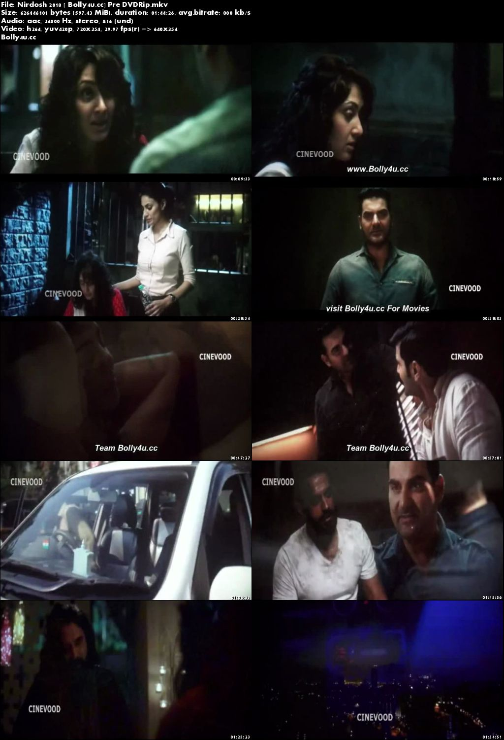 Nirdosh 2018 Pre DVDRip Full Hindi Movie Download x264