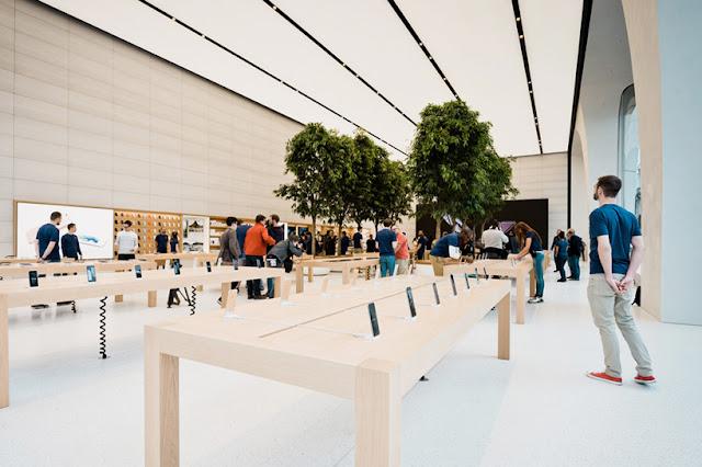 Apple Store para a compra de iPhone