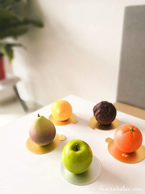 Namelaka Patisserie fruit dessert set