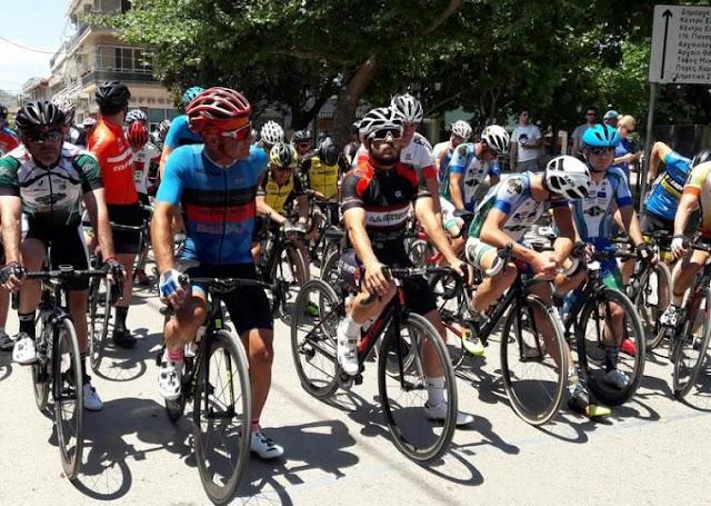 199 ποδηλάτες στην εκκίνηση  του Πανελληνίου Δρόμου Masters στη Βόρεια Εύβοια
