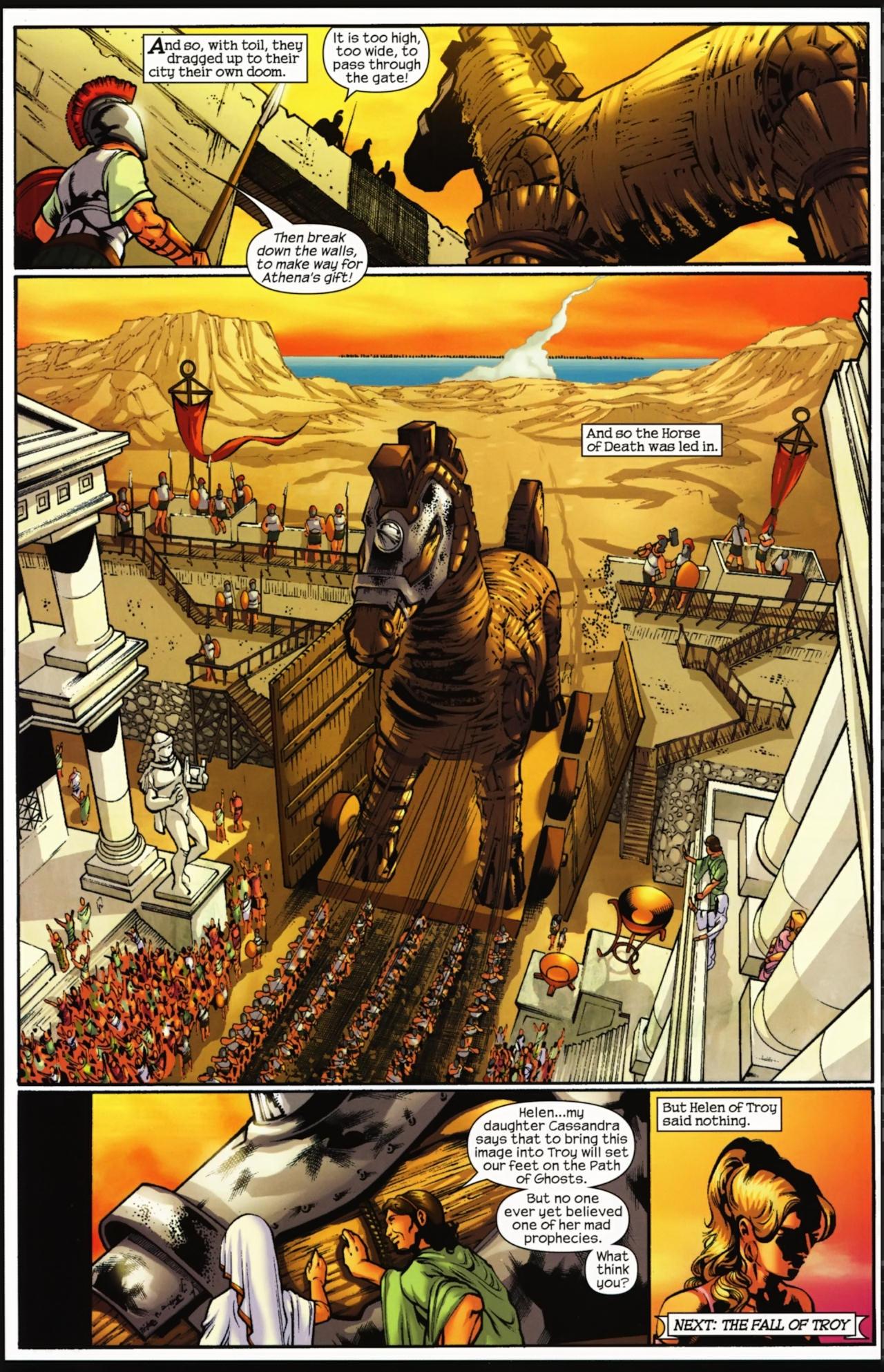 Read online Trojan War comic -  Issue #4 - 33