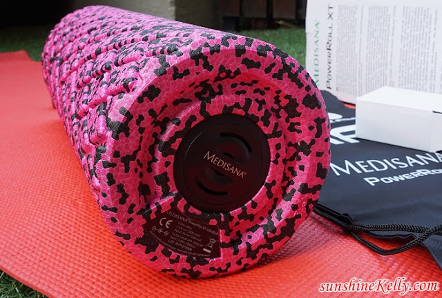 Medisana, PowerRoll XT UltraSoft Review, Fitness Review, Fitness Blogger, Foam Roller, Vibration Foam Roller