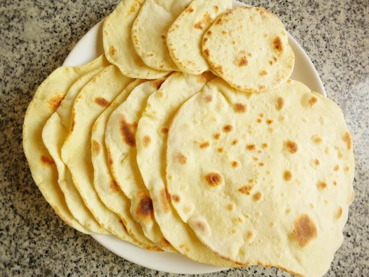 Wraps / Tortilhas Caseiras