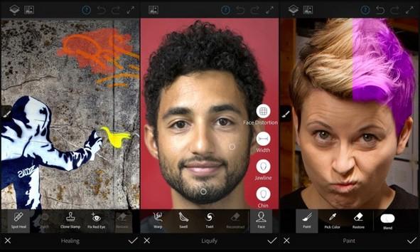 إجعل صورك أكثر احترافية مع تطبيق Photoshop Fix