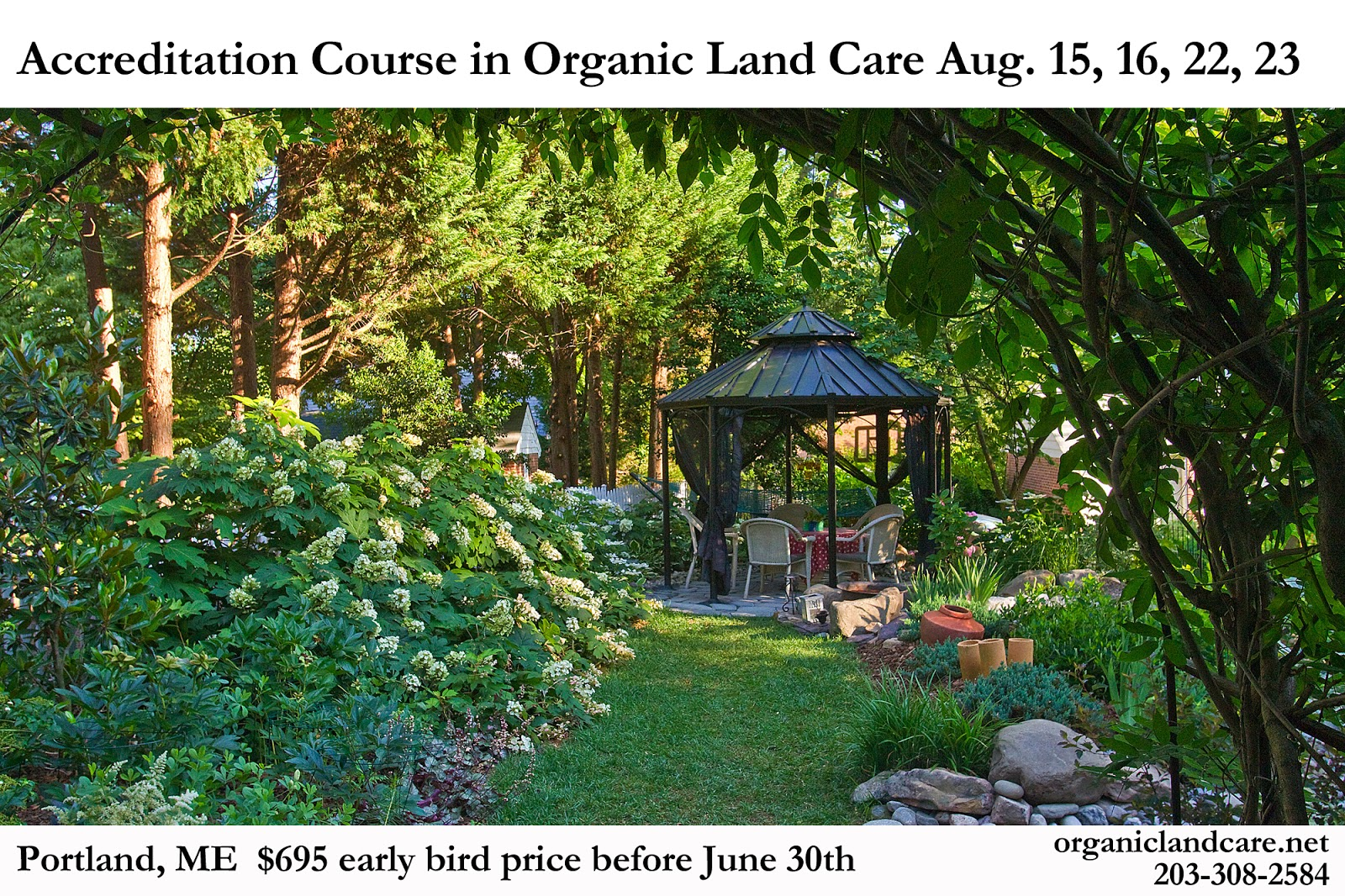 Organic Land Care Program Organic Landscaping Course Addresses