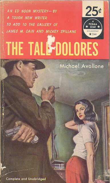 The Tall Dolores by Michael Avallone featuring Ed Noon