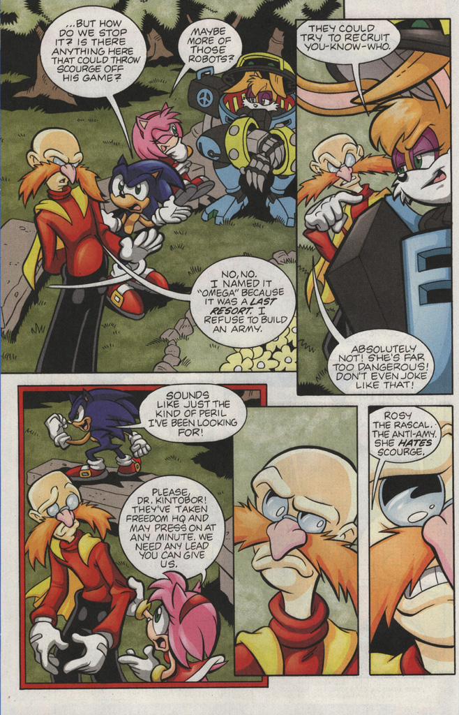 Read online Sonic The Hedgehog comic -  Issue #193 - 11