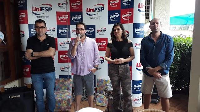 UniFSP comemora a chegada de novos alunos