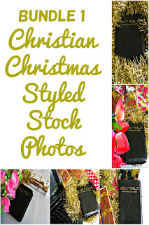 Bundle 1 Christian Christmas Styled Stock Photos
