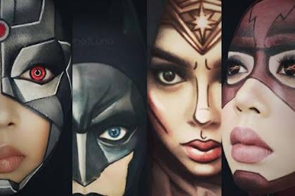 Keren! Cosplayer Hijab Ini Menirukan Banyak Sekali Kostum Superhero