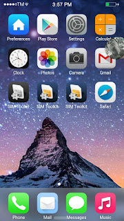 ROM] IOS 9.0 Single Sim for Flare s3 MT6592 Octacore Screenshots