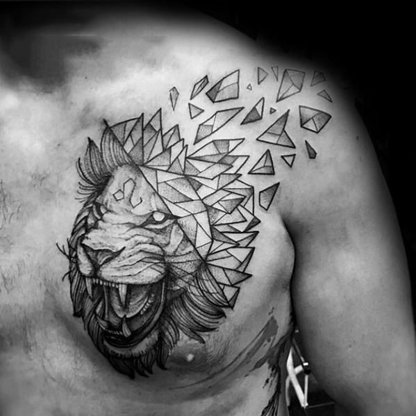 70 Best Shoulder Tattoos For Guys 2019 Arm To Chest