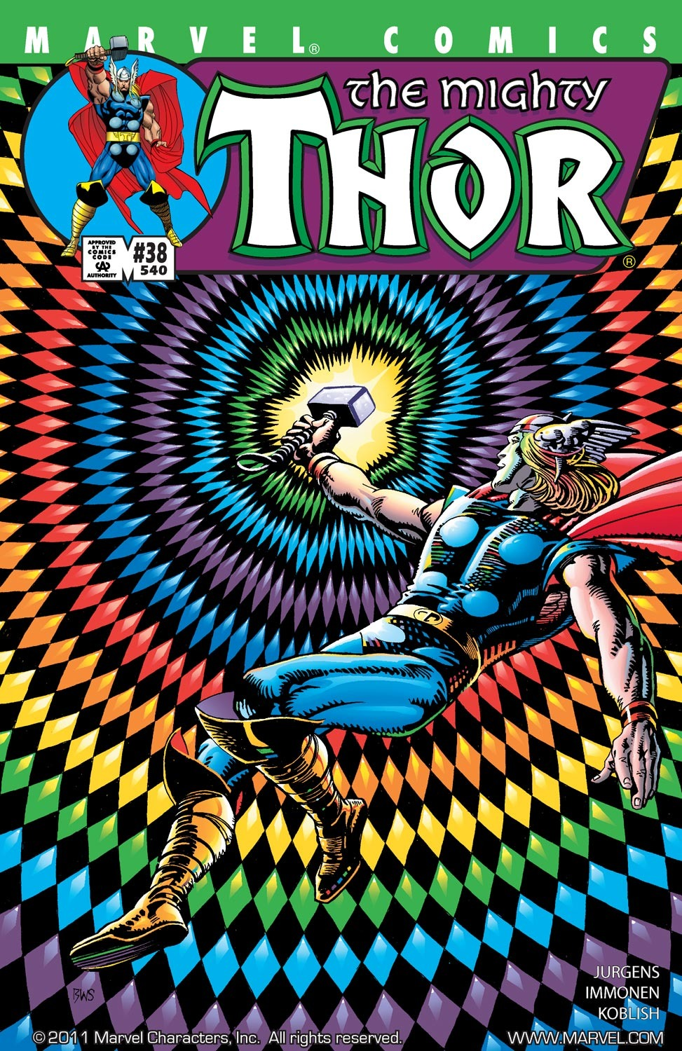 Thor (1998) Issue #38 #39 - English 1