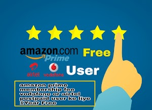 Amazon Prime Membership Fee Airtel Or Vodafone Users