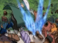 Chouji Choji Akimichi derrota a Jirobo