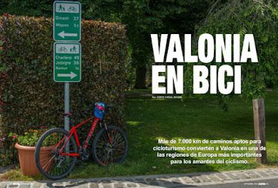 Valonia en Bici