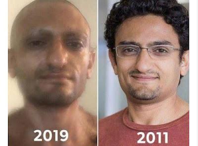 وائل غنيم, مريض نفسى, ممثل مدعى,