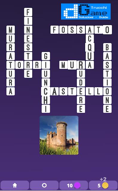 Soluzioni One Clue Crossword livello 2 schema 13  (Cruciverba illustrato)  | Parole e foto
