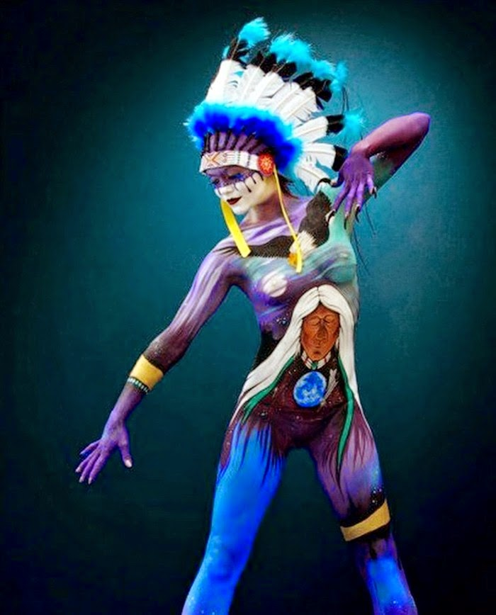 Бодиарт фестиваль в Австрии. World Bodypainting Festival
