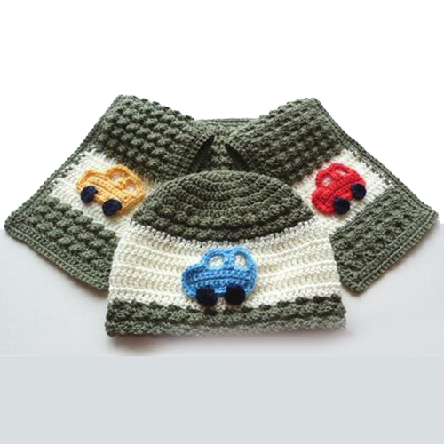 Child's Hat and Scarf Set - Free Pattern