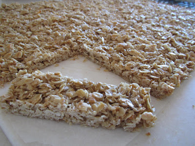 Key Lime Granola Bars