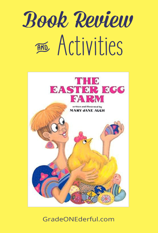 The Easter Egg Farm. A wonderfully delightful book. Come read the review and story extensions.