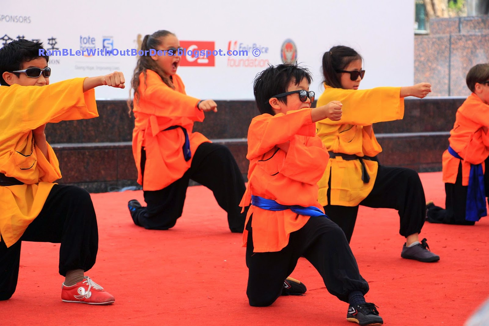 Kung fu kid, Singapore International Red Cross Bazaar 2015