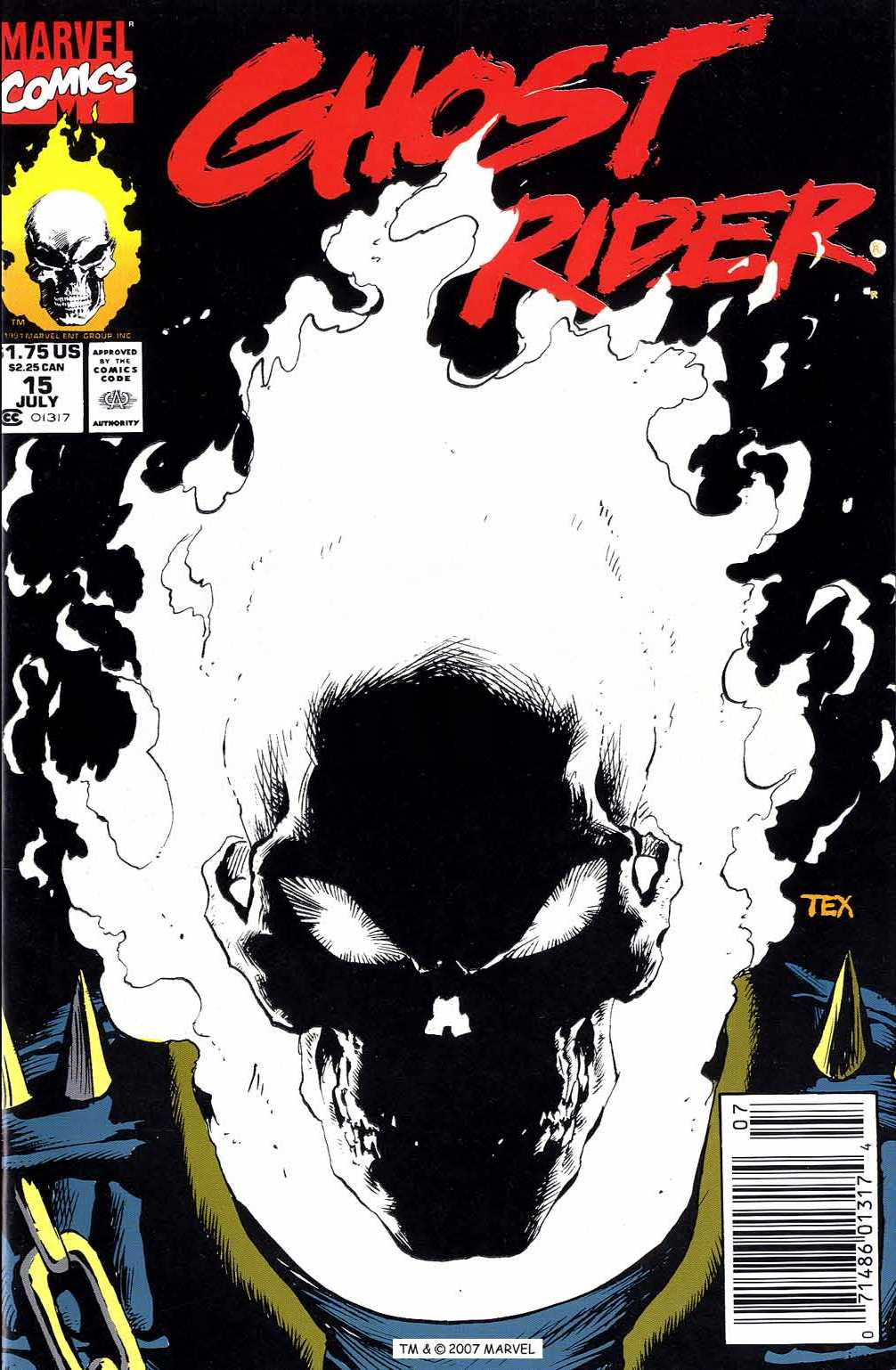 Ghost Rider (1990) 15 Page 1