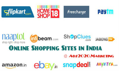 List-of-Online-Shopping-websites-in-India