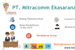Lowongan Kerja Aceh Terbaru 2019 Gaji di atas 5 Juta di PT Mitracomm Ekasarana