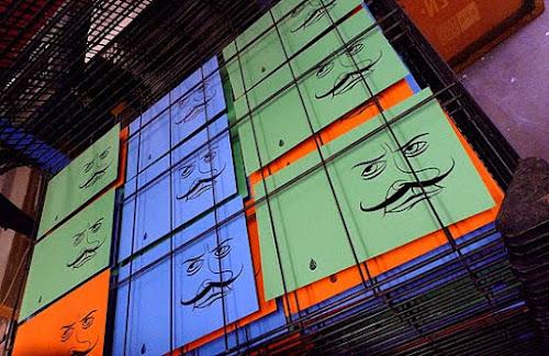 Sheffield based French Street Artist releases a new Dropmen zine