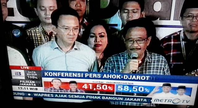 """Lulucon Politik: Ahok """"Keok"""", Djarot """"Melorot"""", Megawati Kehilangan """"Surga"""", Nusron Purnomo Berlagak Kayak """"Si Komo"""""""