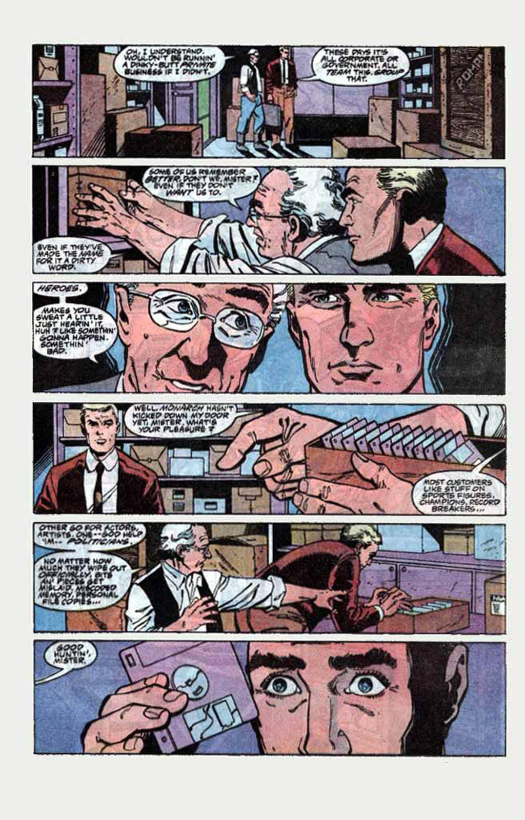 Read online Armageddon 2001 comic -  Issue #1 - 18