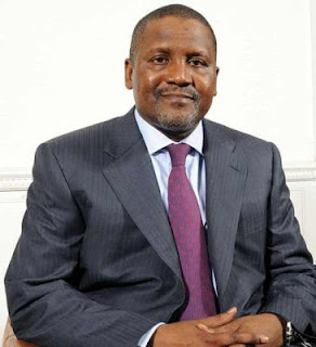 DANGOTE TURNS DOWN PDP OFFER TO RUN FOR PRESIDENT IN 2019