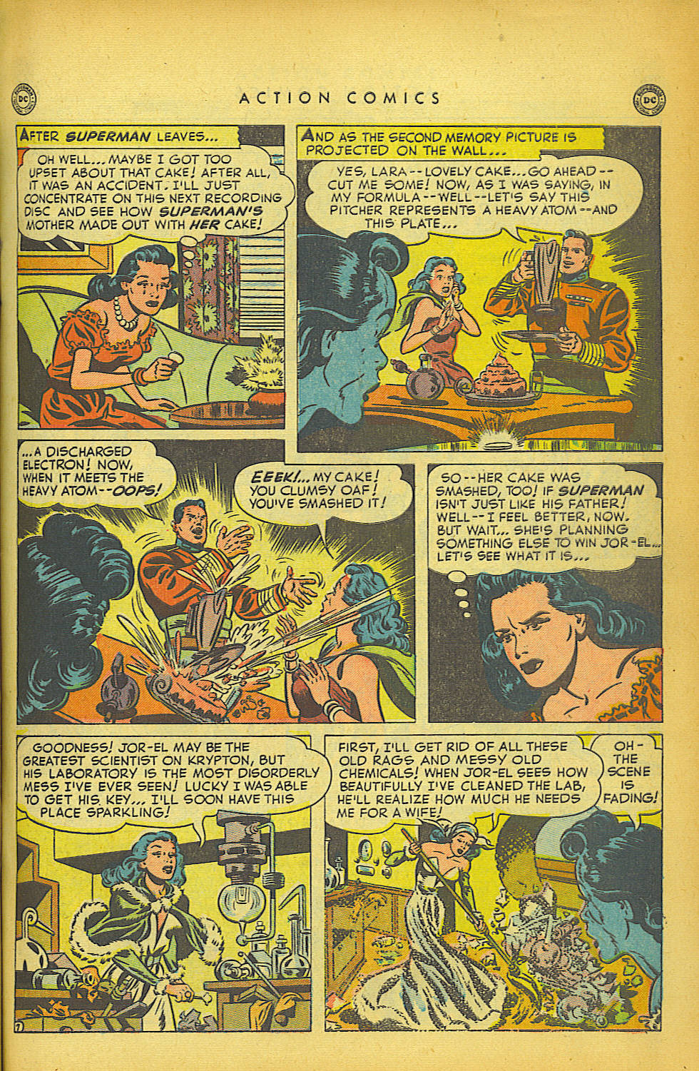 Read online Action Comics (1938) comic -  Issue #149 - 8