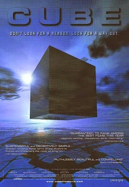 Capa do Filme Cubo