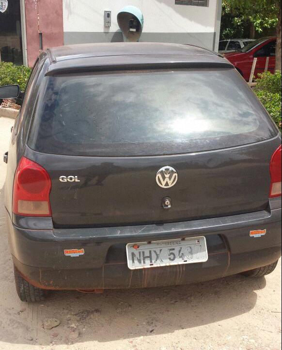 Veículo roubado em Teresina é recuperado pela PM de Caxias