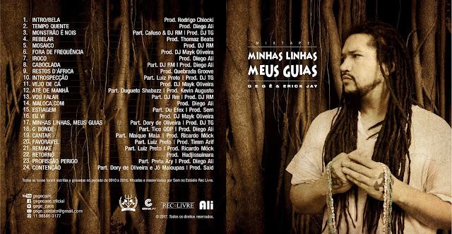 """Gegê & Erick Jay lançam a mixtape """"Minhas Linhas, Meus Guias"""""""