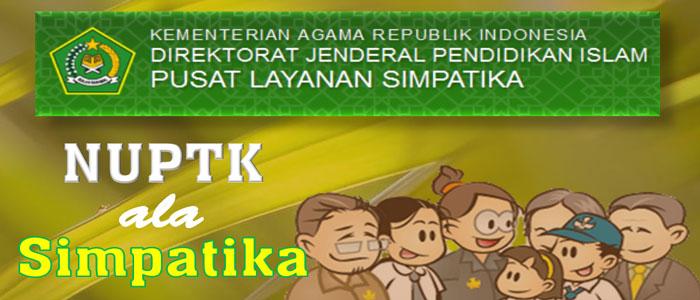 Penerbitan NUPTK ala Simpatika