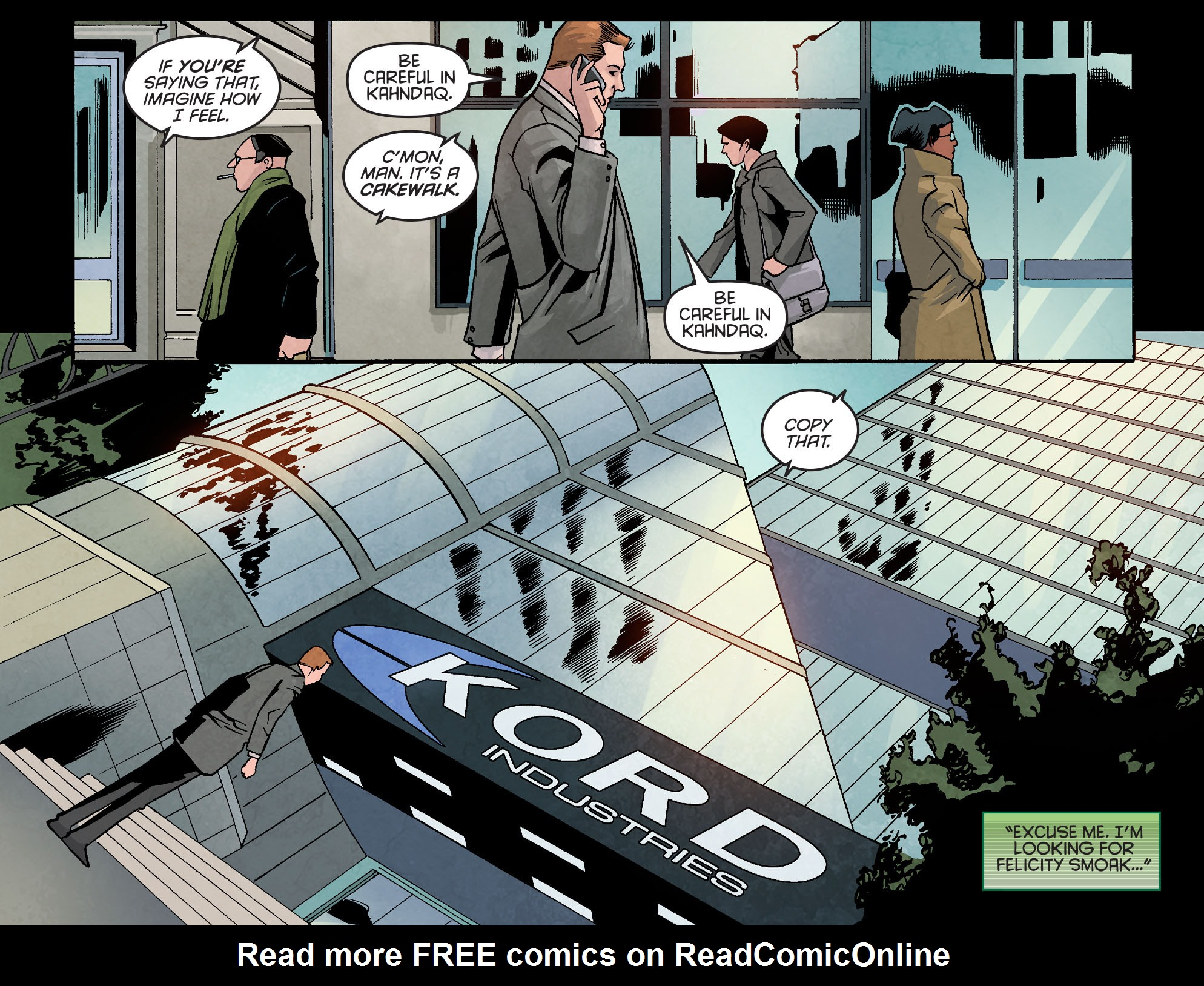 Read online Arrow: Season 2.5 [I] comic -  Issue #10 - 14
