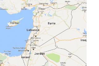 Peta Palestina diganti Israel oleh GOOGLE