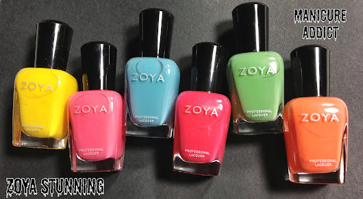 Zoya Stunning Summer 2013 Review