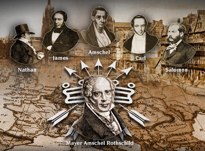 Sejarah Rothschild, Keluarga Kaya Pengendali Uang Dunia