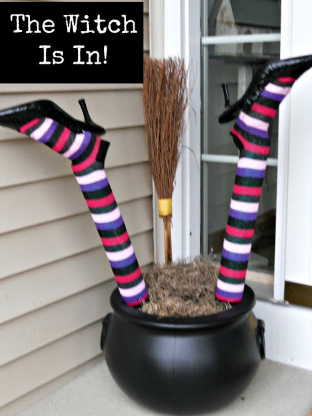 Divertida decoración para Halloween
