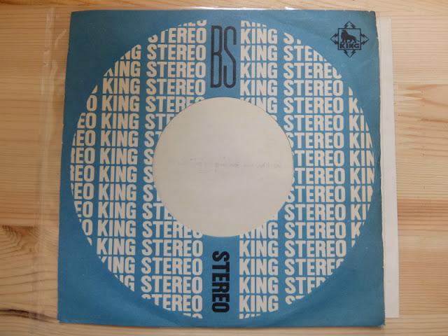 KING RECORDSの45レコードジャケットです。